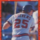 1990 Donruss 449 Lee Stevens