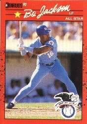 1990 Donruss 650B Bo Jackson AS/(All-Star Game/Performance)