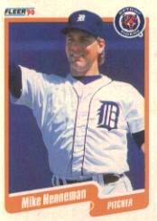 1990 Fleer 604 Mike Henneman