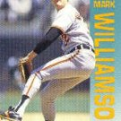 1992 Fleer 30 Mark Williamson