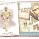 2010 Topps Allen and Ginter This Day in History #TDH47 Brandon Phillips