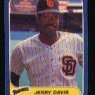 1986 Fleer #317 Jerry Davis