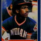 1986 Fleer #586 Julio Franco