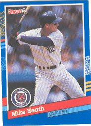 1991 Donruss #230 Mike Heath