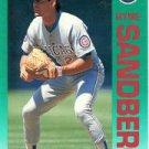 1992 Fleer #389 Ryne Sandberg