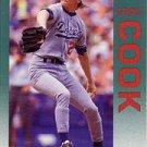 1992 Fleer #451 Dennis Cook