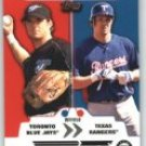 2007 Topps Trading Places #TP21 Frank Catalanotto