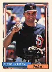 1992 Topps #88 Darrin Jackson
