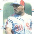 1988 Fleer #193 Tim Raines