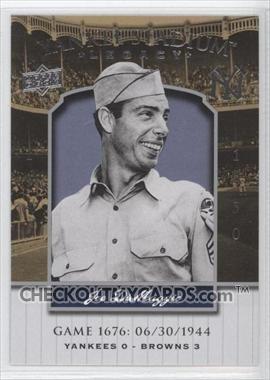 2008 Upper Deck Yankee Stadium Legacy Collection #1676 Joe DiMaggio