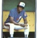 1982 Fleer 186 Warren Cromartie