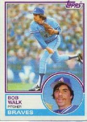 1983 Topps 104 Bob Walk