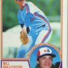 1983 Topps 31 Bill Gullickson