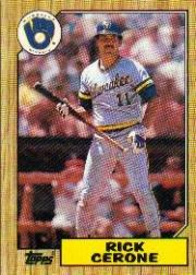 1987 Topps 129 Rick Cerone