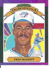 1989 Donruss 16 Fred McGriff DK