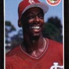 1989 Donruss 161 Willie McGee
