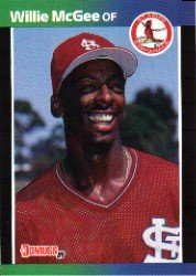1989 Donruss 161 Willie McGee