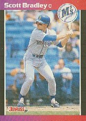1989 Donruss 261 Scott Bradley