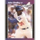 1989 Donruss 314 John Shelby