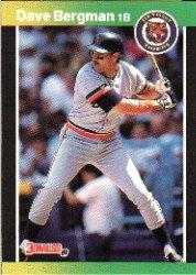 1989 Donruss 389 Dave Bergman
