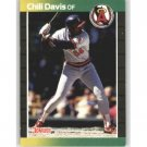 1989 Donruss 449 Chili Davis