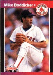 1989 Donruss 612 Mike Boddicker