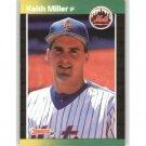 1989 Donruss 623 Keith A. Miller DP