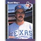 1989 Donruss 636 Scott May DP
