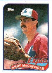 1989 Topps 278 Andy McGaffigan