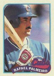 1989 Topps 310 Rafael Palmeiro