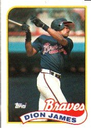 1989 Topps 678 Dion James