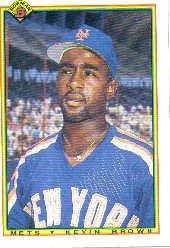 1990 Bowman 127 Kevin D. Brown RC