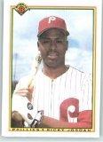 1990 Bowman 156 Ricky Jordan