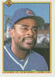 1990 Bowman 32 Dwight Smith