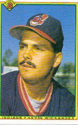 1990 Bowman 327 Kevin Wickander