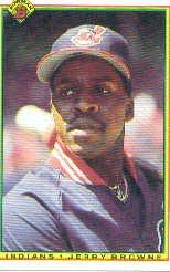 1990 Bowman 332 Jerry Browne