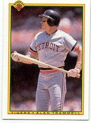 1990 Bowman 353 Alan Trammell