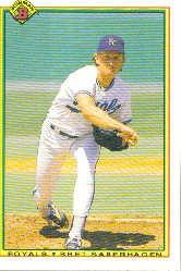 1990 Bowman 364 Bret Saberhagen