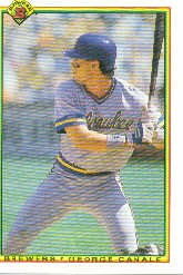 1990 Bowman 392 George Canale RC