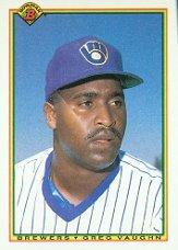 1990 Bowman 396 Greg Vaughn