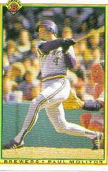 1990 Bowman 399 Paul Molitor