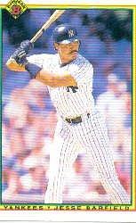1990 Bowman 433 Jesse Barfield