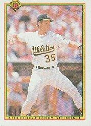 1990 Bowman 456 Terry Steinbach