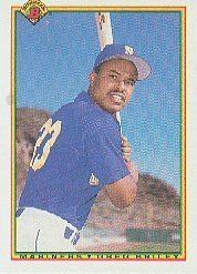 1990 Bowman 482 Greg Briley