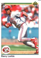 1990 Upper Deck 167 Barry Larkin