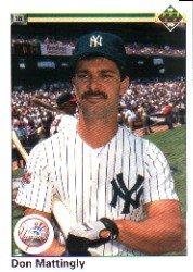 1990 Upper Deck 191 Don Mattingly