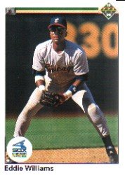 1990 Upper Deck 289 Eddie Williams