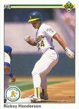 1990 Upper Deck 334 Rickey Henderson