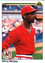 1990 Upper Deck 505 Willie McGee