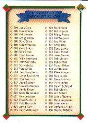 1990 Upper Deck 700B Checklist 601-700